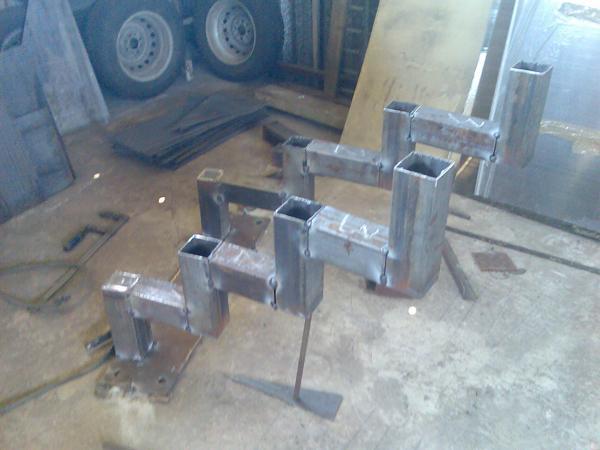 Изготовление стремянки своими руками из стального профиля